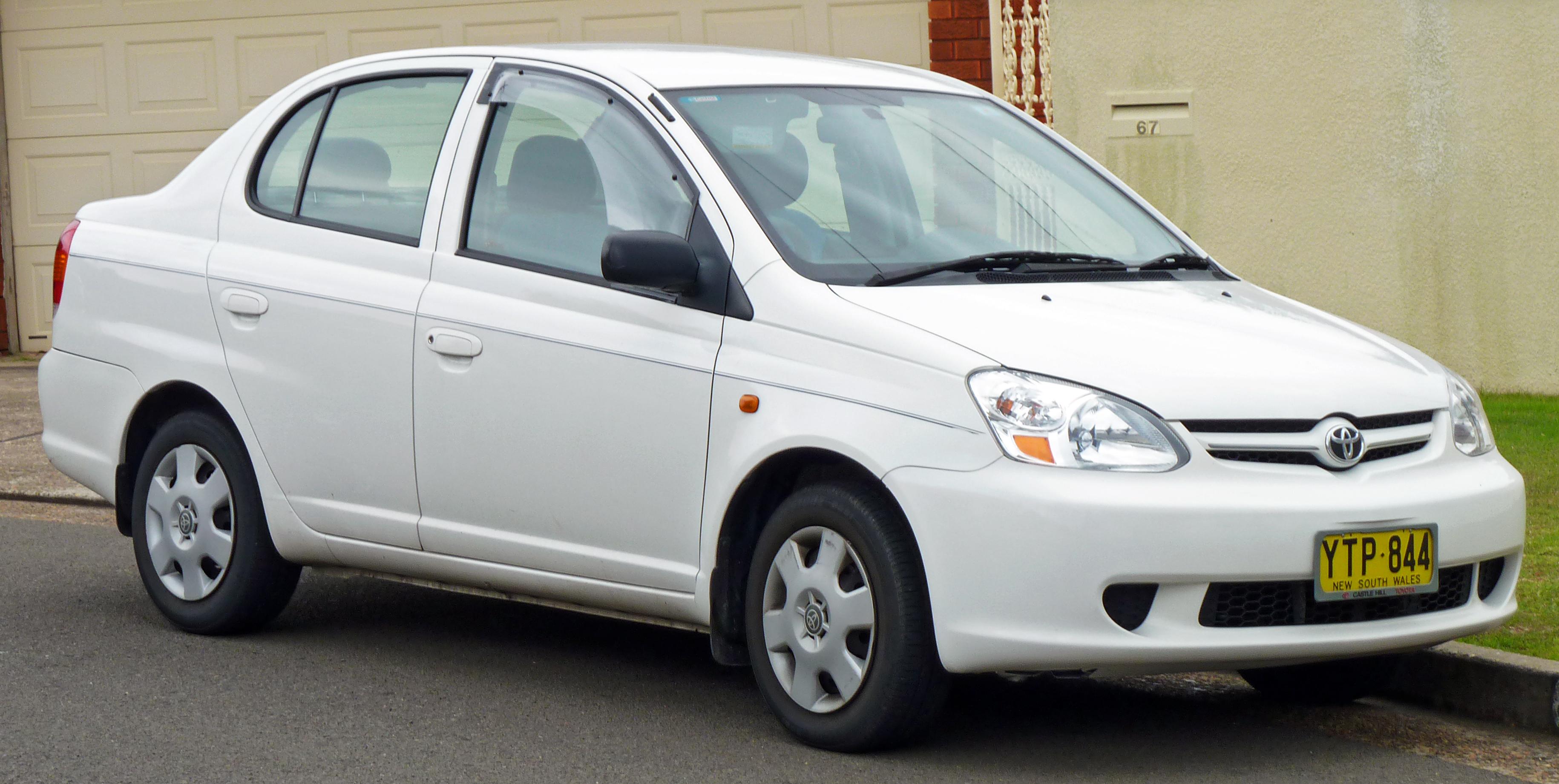 Toyota Corolla 2010 Type S >> File:2002-2005 Toyota Echo (NCP12R) sedan 01.jpg - Wikimedia Commons