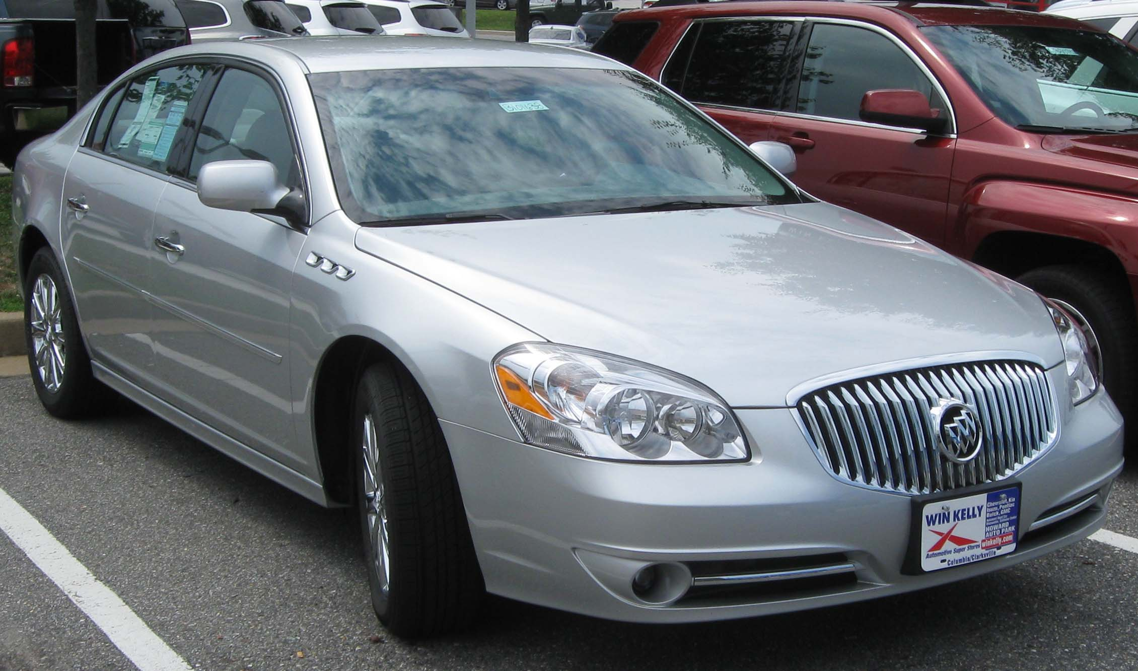 buick lucerne wikipedia the free encyclopedia autos post. Black Bedroom Furniture Sets. Home Design Ideas