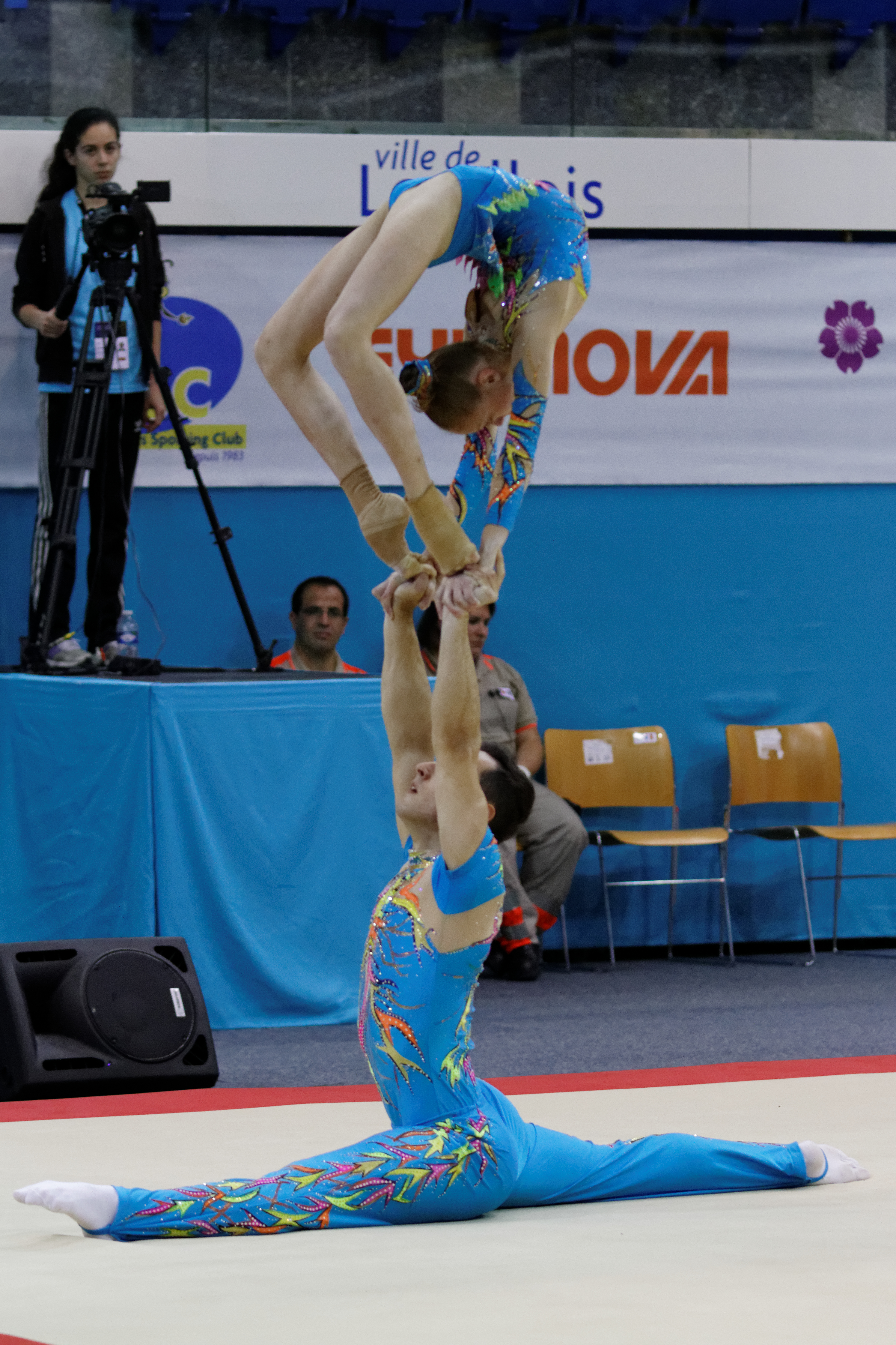 File:2014 Acrobatic Gymnastics World Championships - Mixed ... Acrobatic Gymnastics Mixed Pair