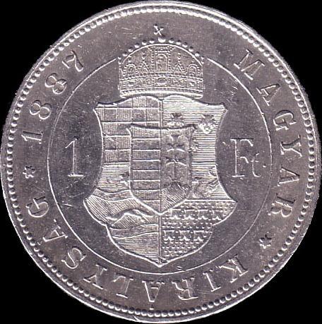 AHG hun 1 1887 reverse