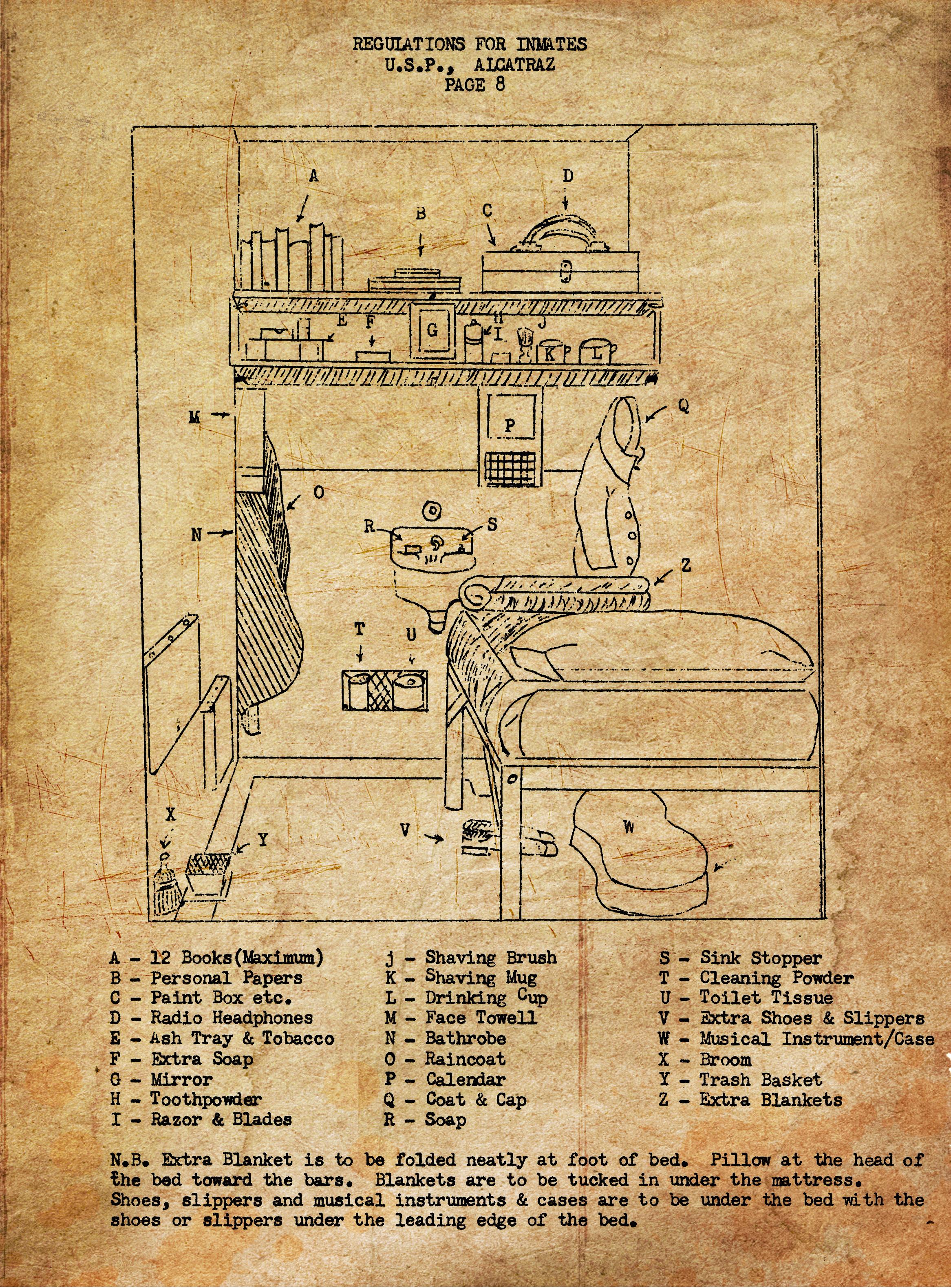 alcatraz prison escape plan - photo #9
