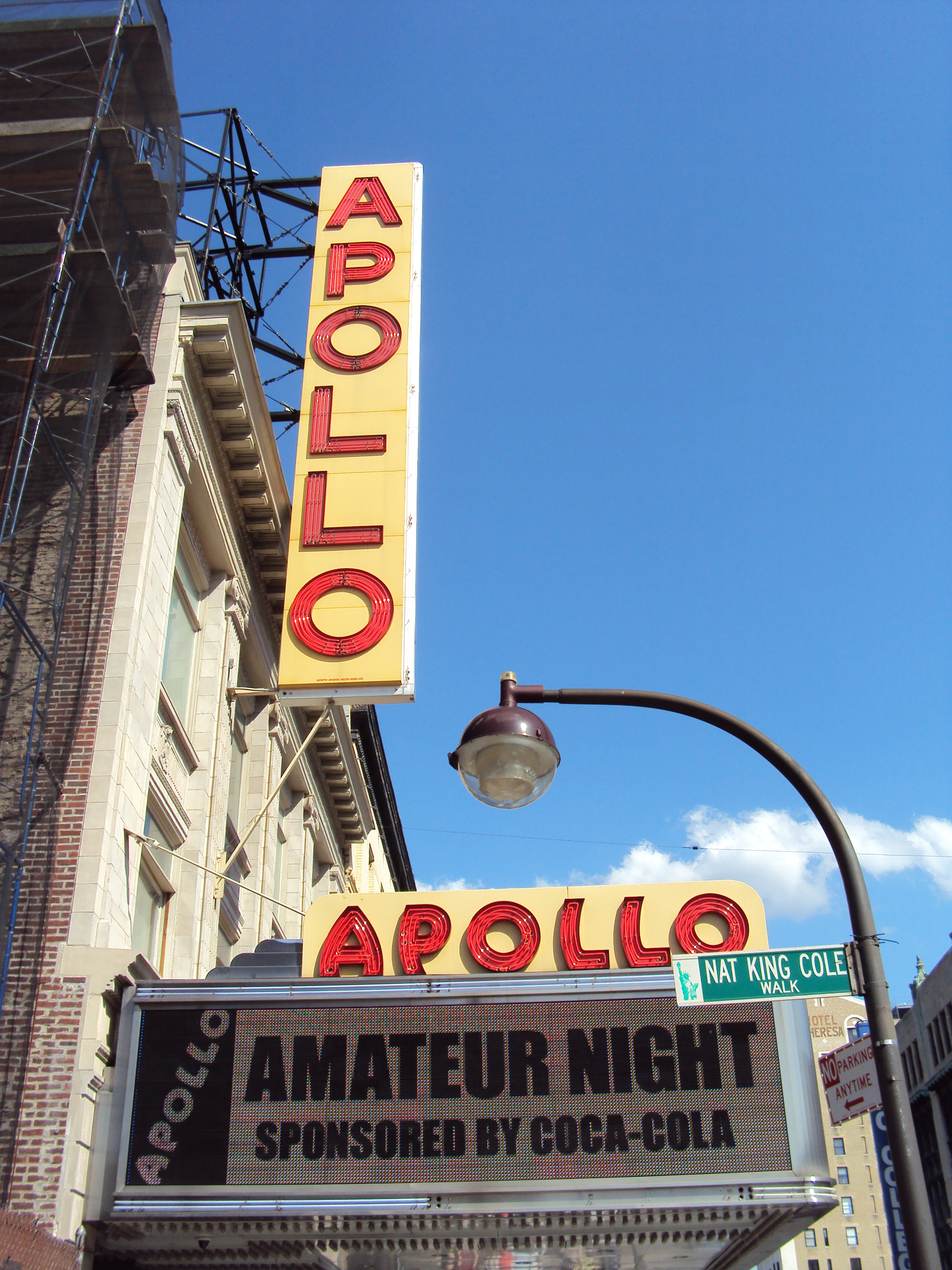 Can consult Amateur apollo night theater good question