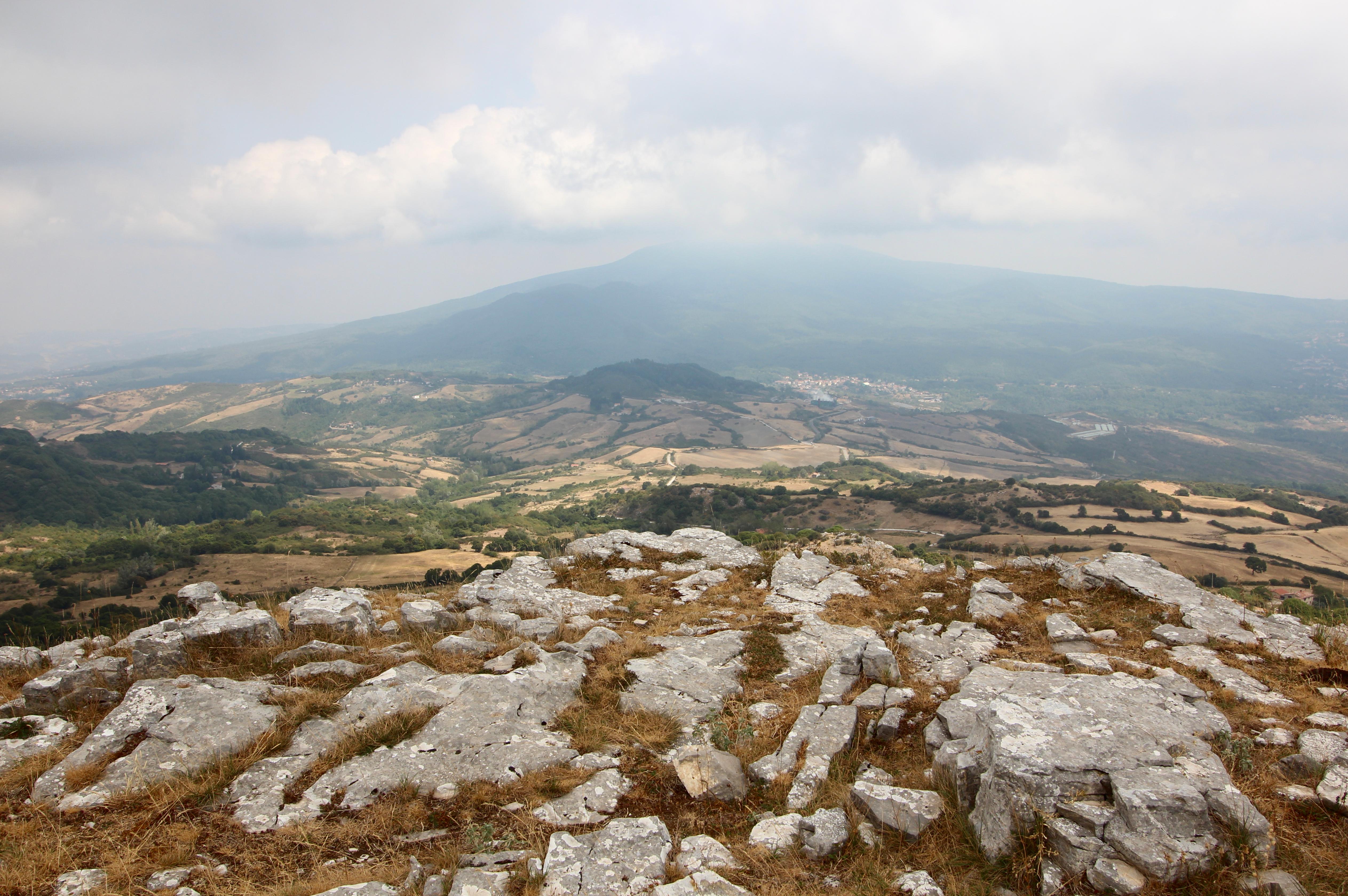 Arcidosso, MonteLabbro panorama