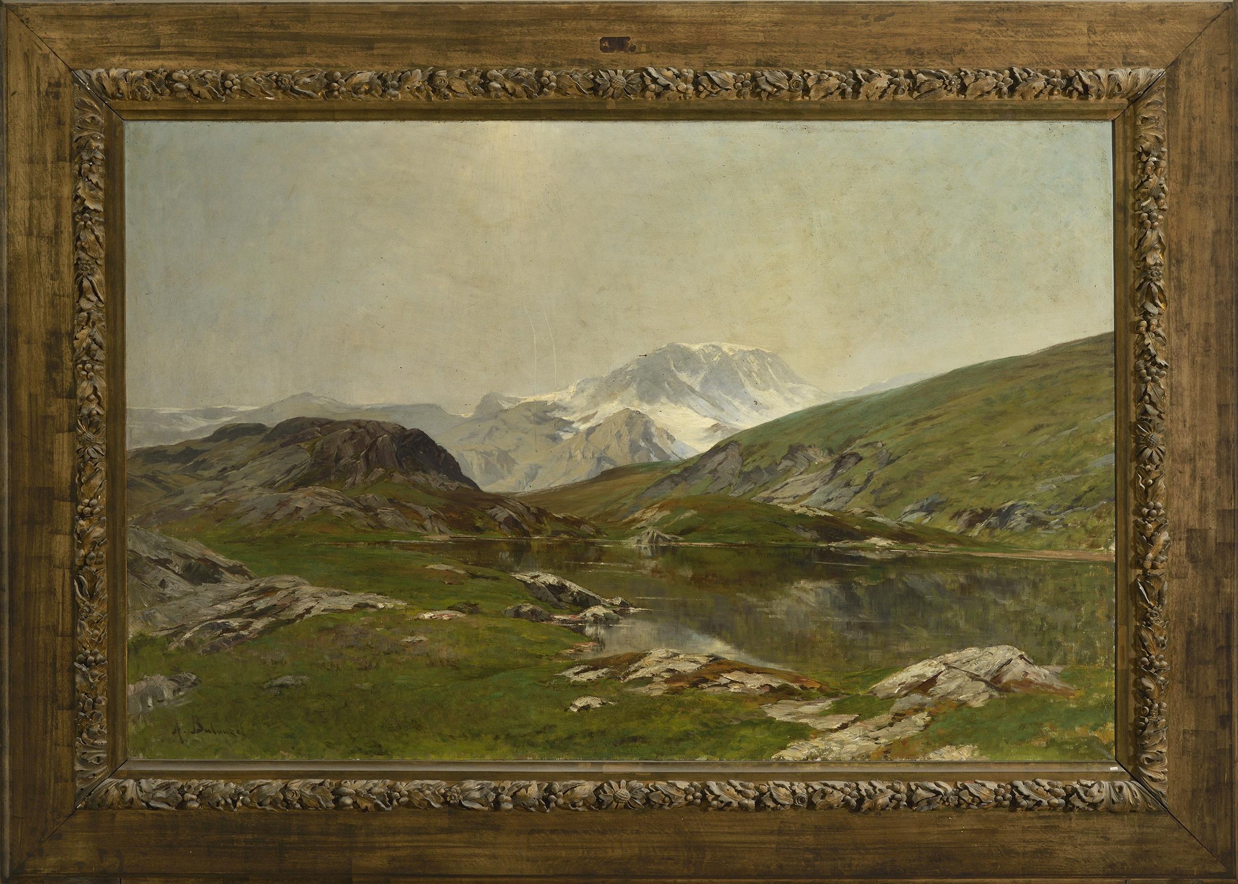 Site Des Artistes Peintres file:armand-auguste balouzet site du dauphiné avec cadre
