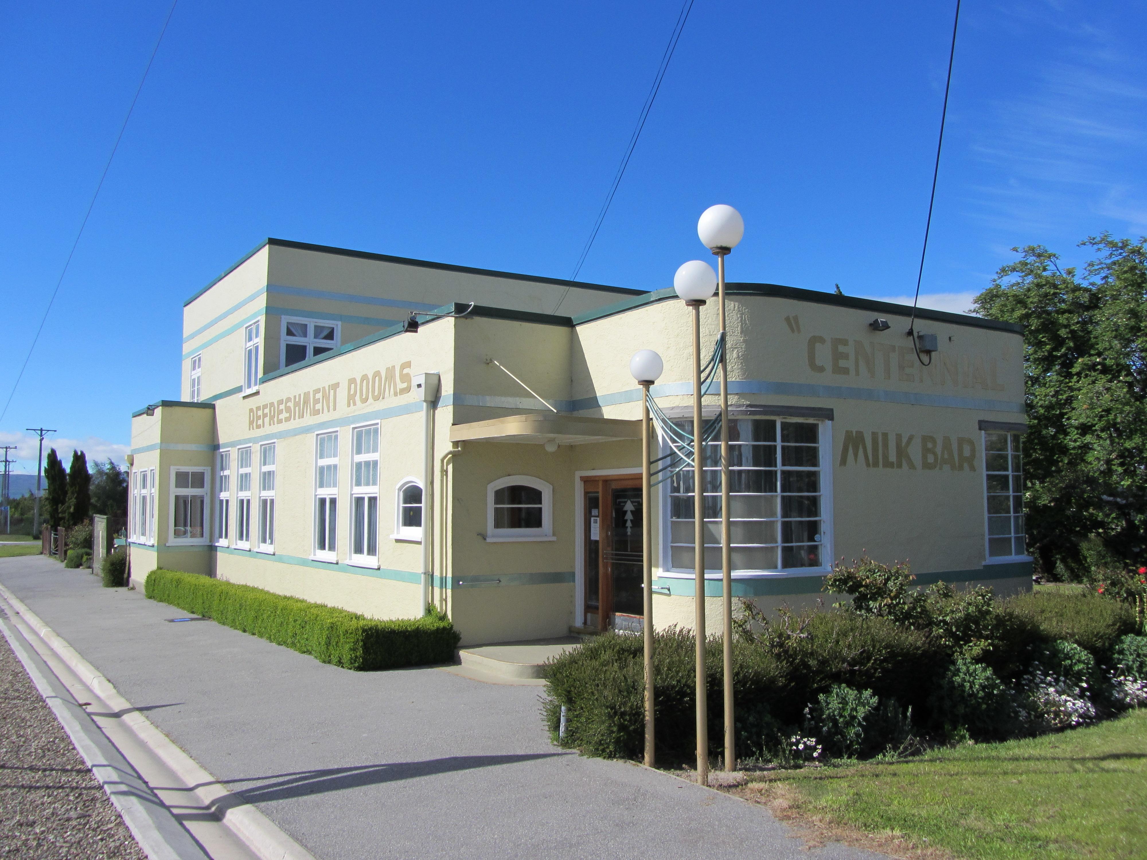 File Art Deco Building Ranfurly New Zealand Jpg