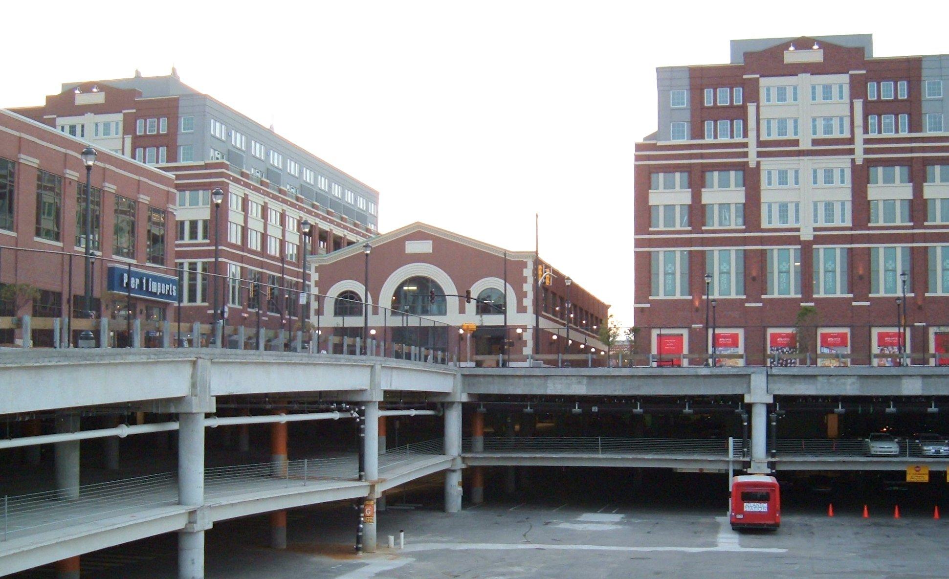 Car Parking Downtown Atlanta