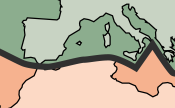 The tectonic boundary