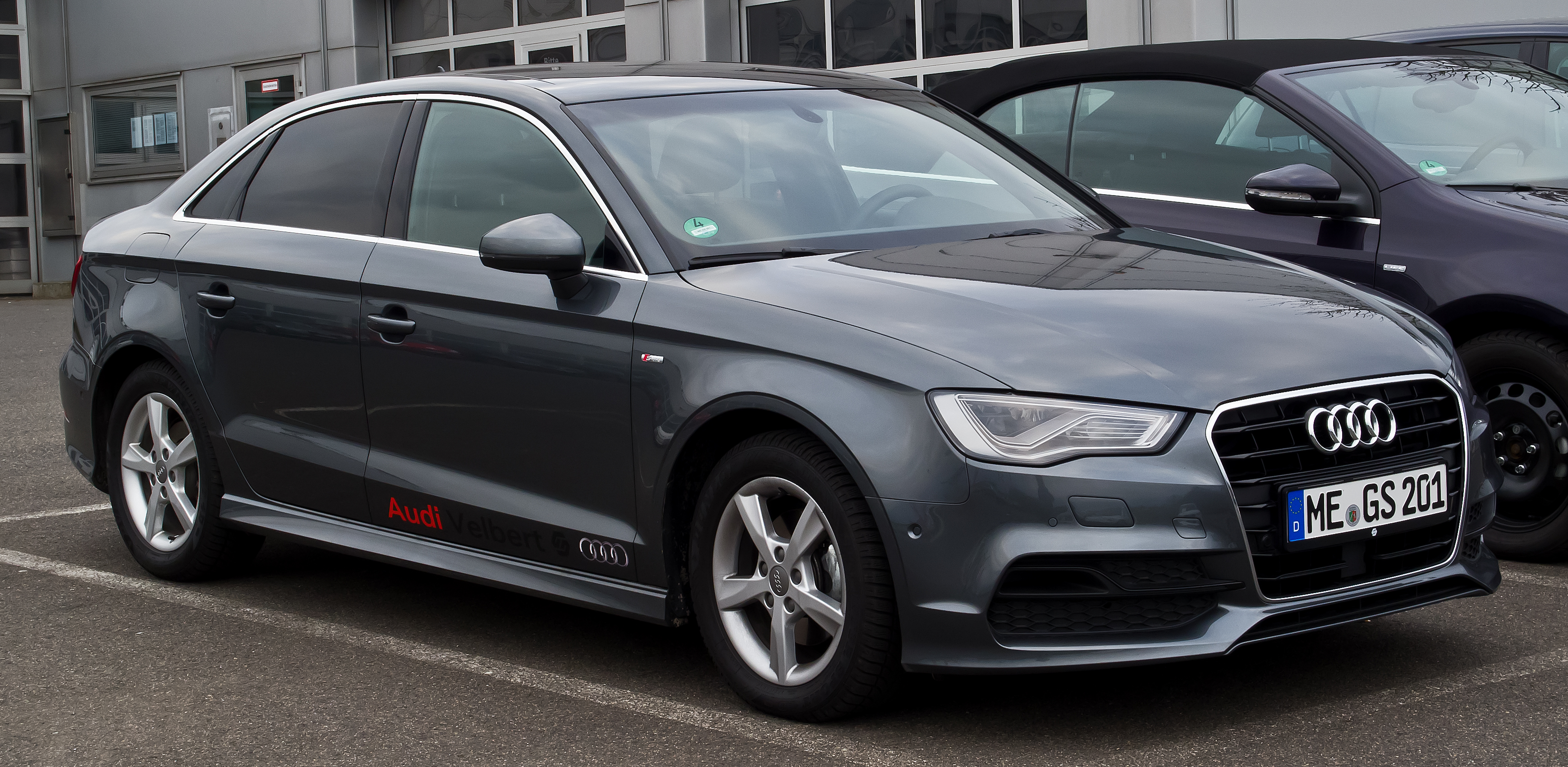 audi a3 s line body kit images