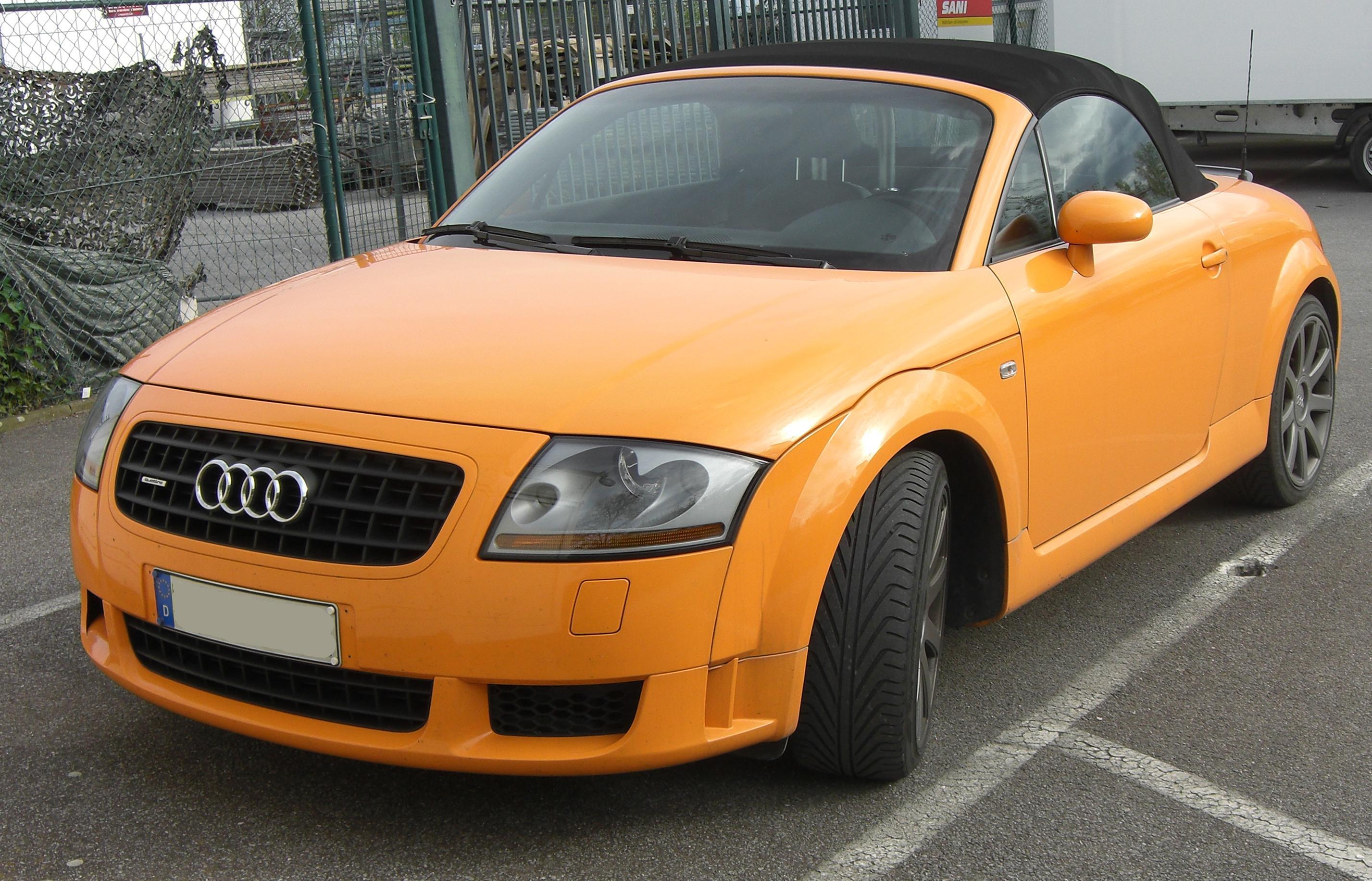 File Audi Tt Roadster I Generation Front Jpg Wikimedia
