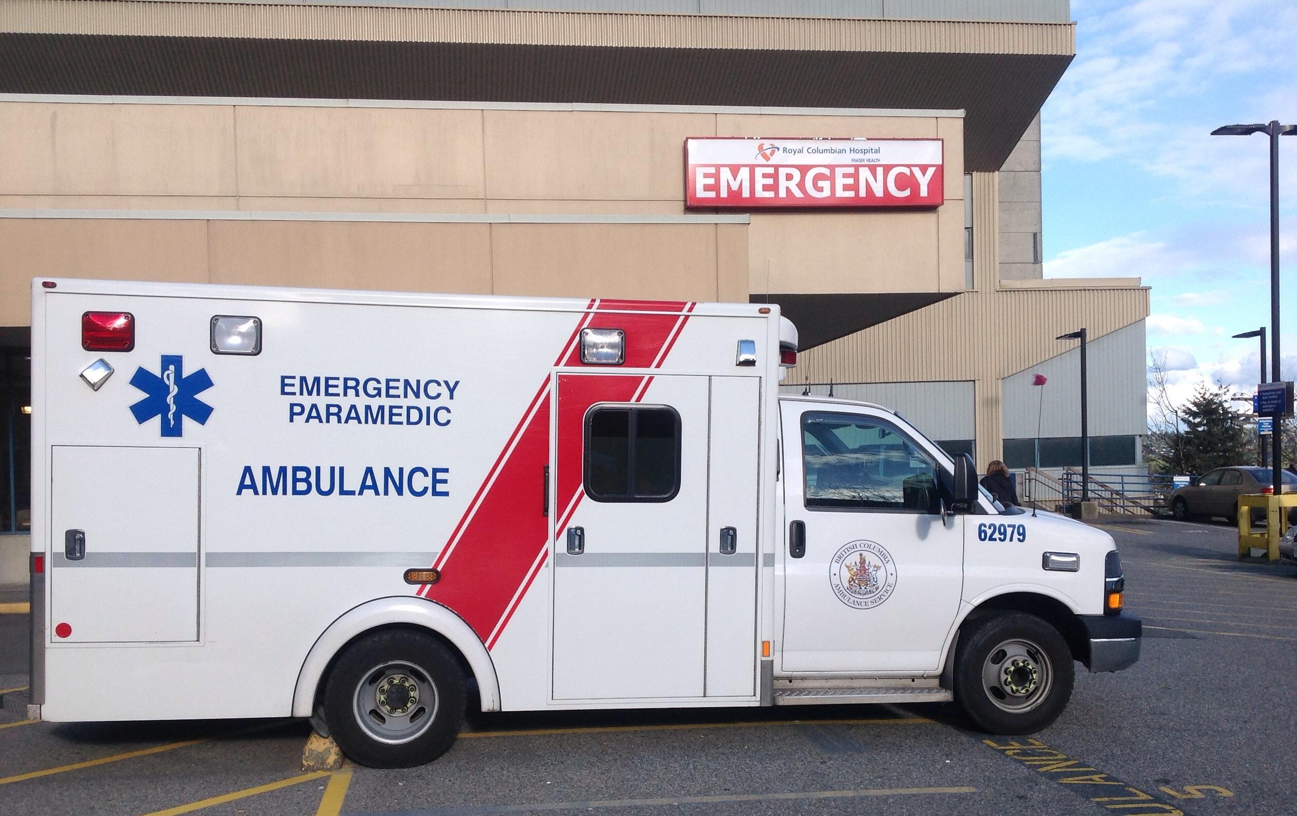 File:BC Ambulance at RCH.jpg - Wikimedia Commons