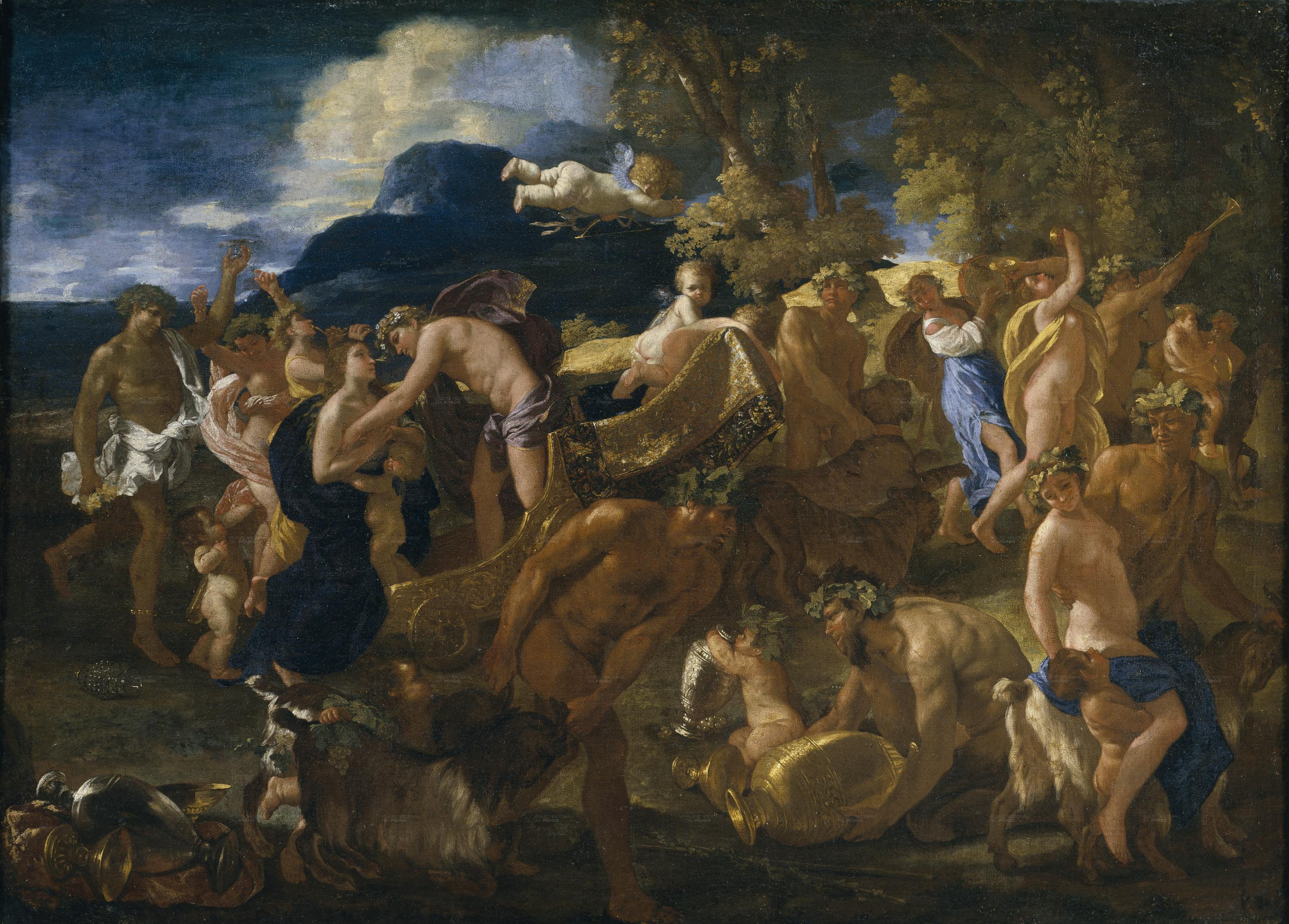 """Bacchanale"" by Nicolas Poussin"