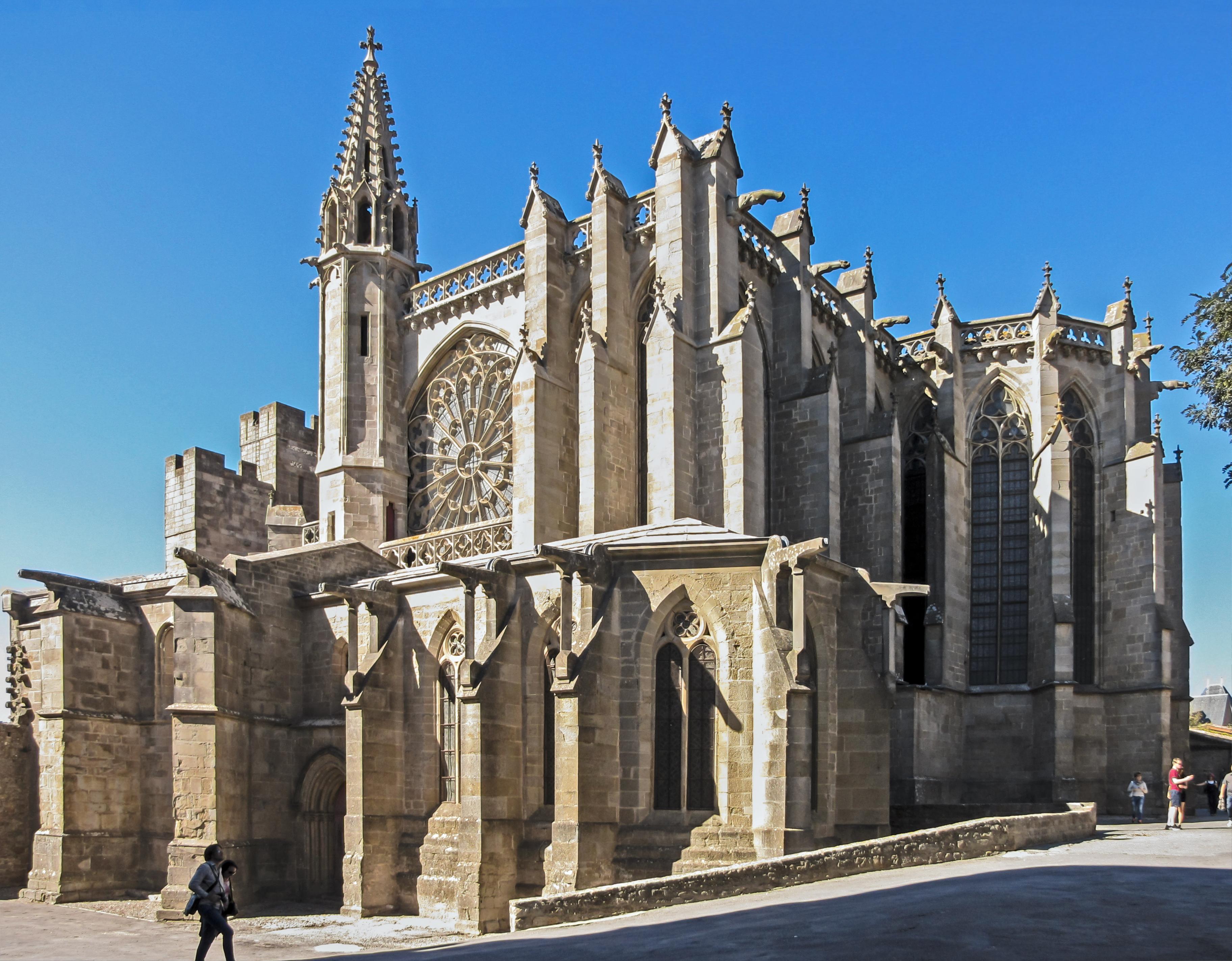 Extérieur de la basilique.