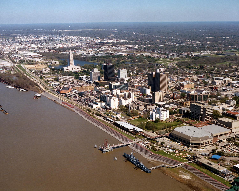 "Die Hauptstadt von Louisiana ""Baton Rouge"""