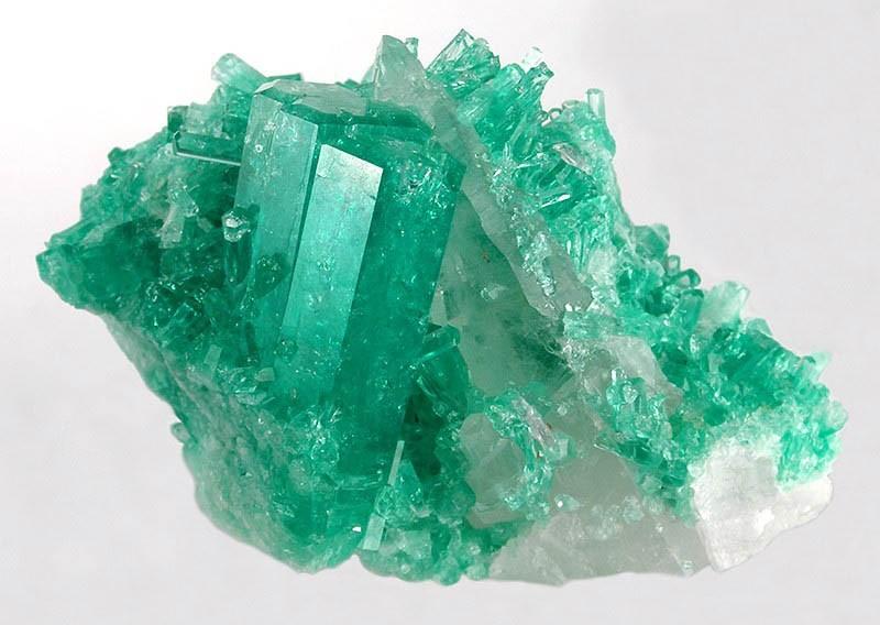 Kryštál smaragdu (zelený)