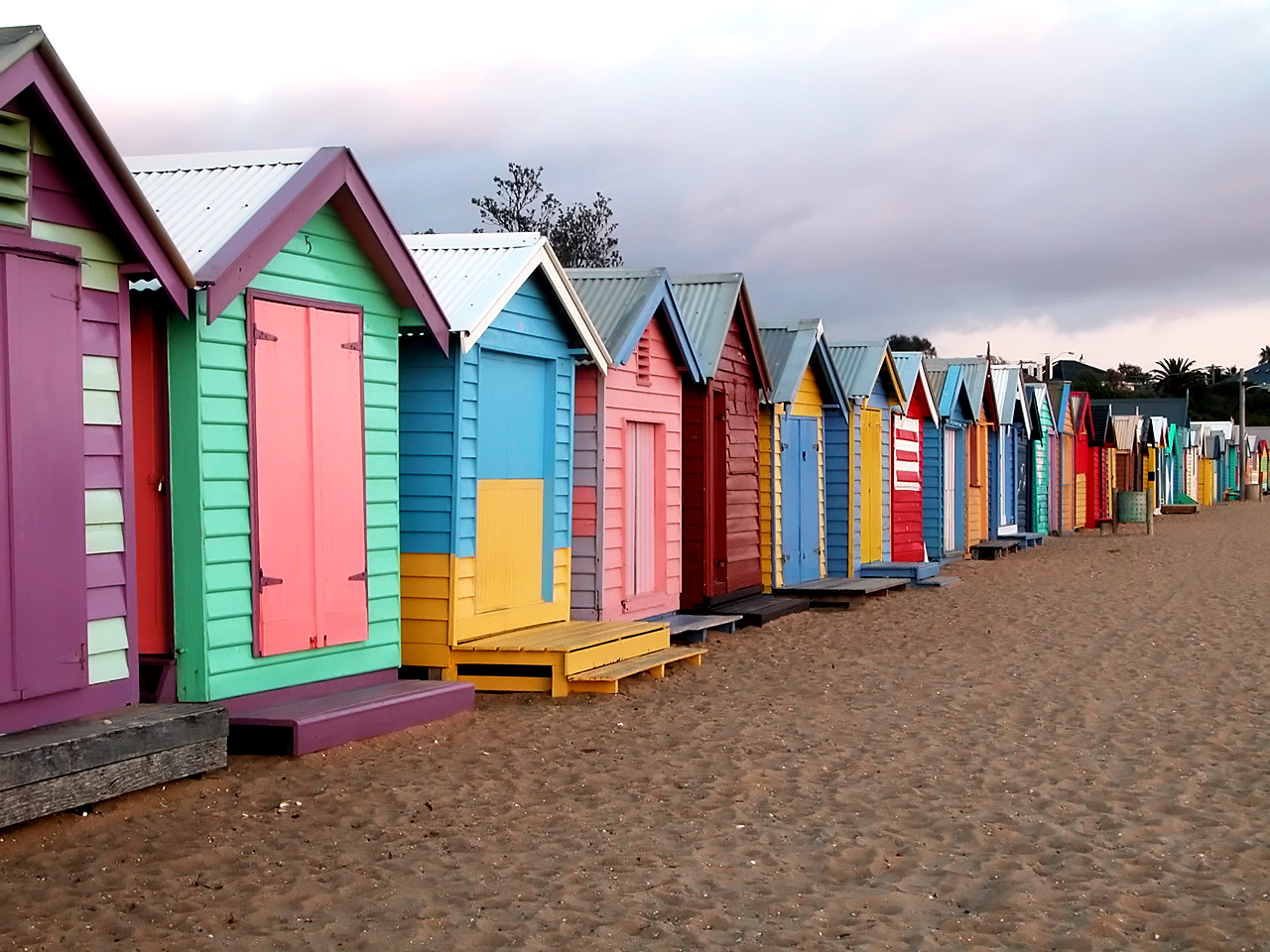 25 most colorful places on earth for The brighton