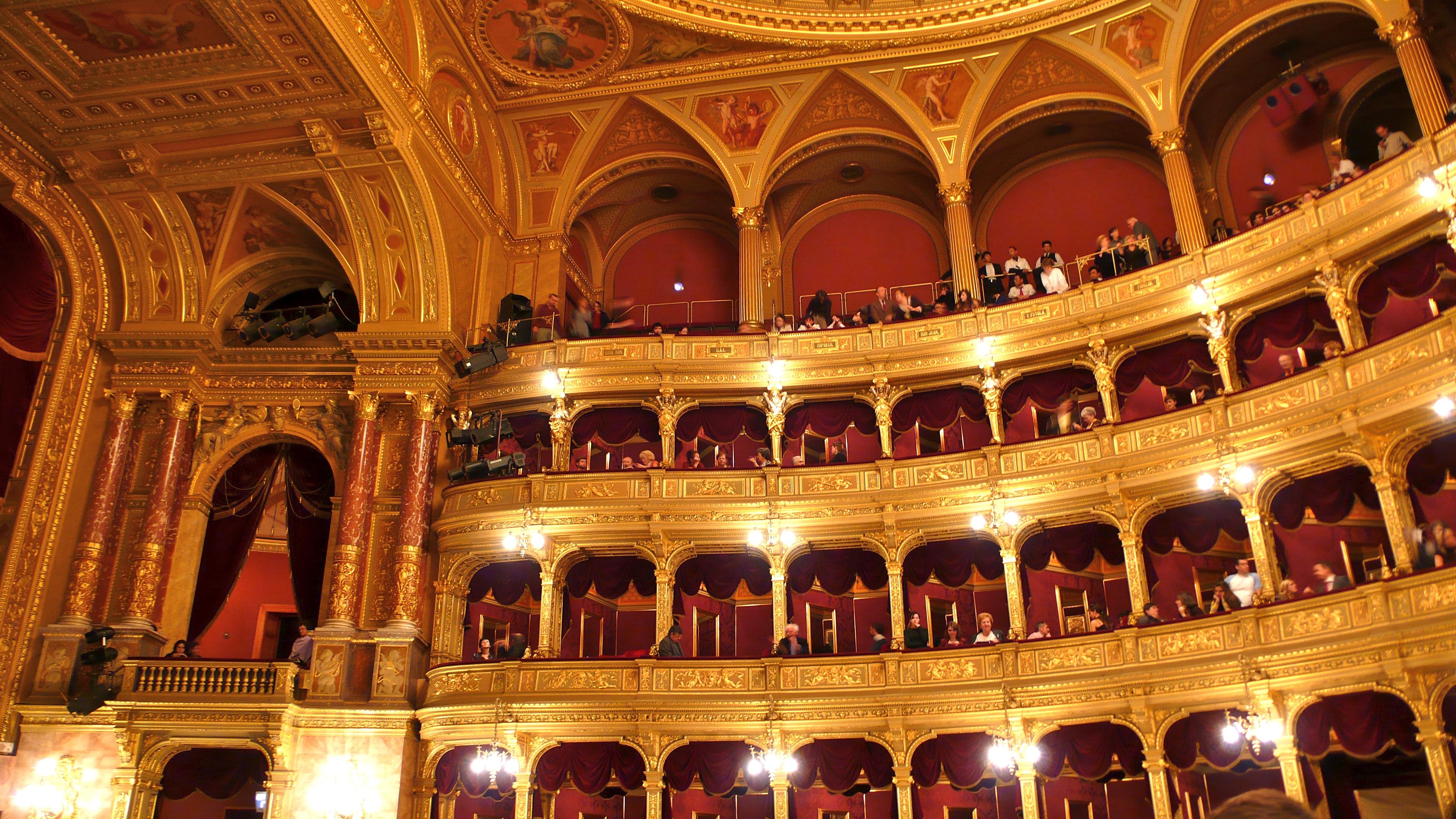 File Budapest Opera House Interior Jpg Wikimedia Commons