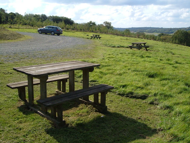 Car park, Roadford Reservoir - geograph.org.uk - 248109