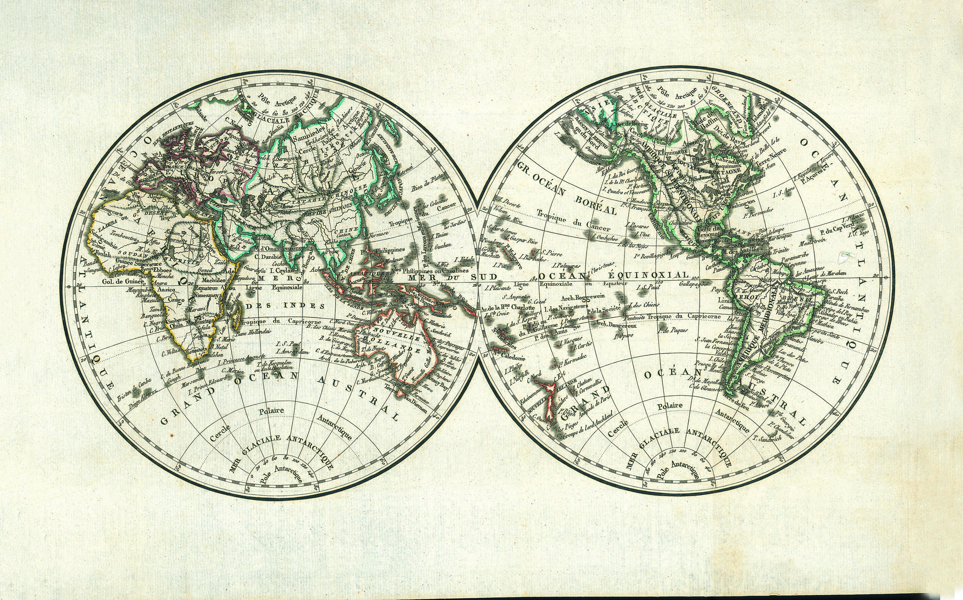 Filecarte Du Monde De 1819jpg Wikimedia Commons