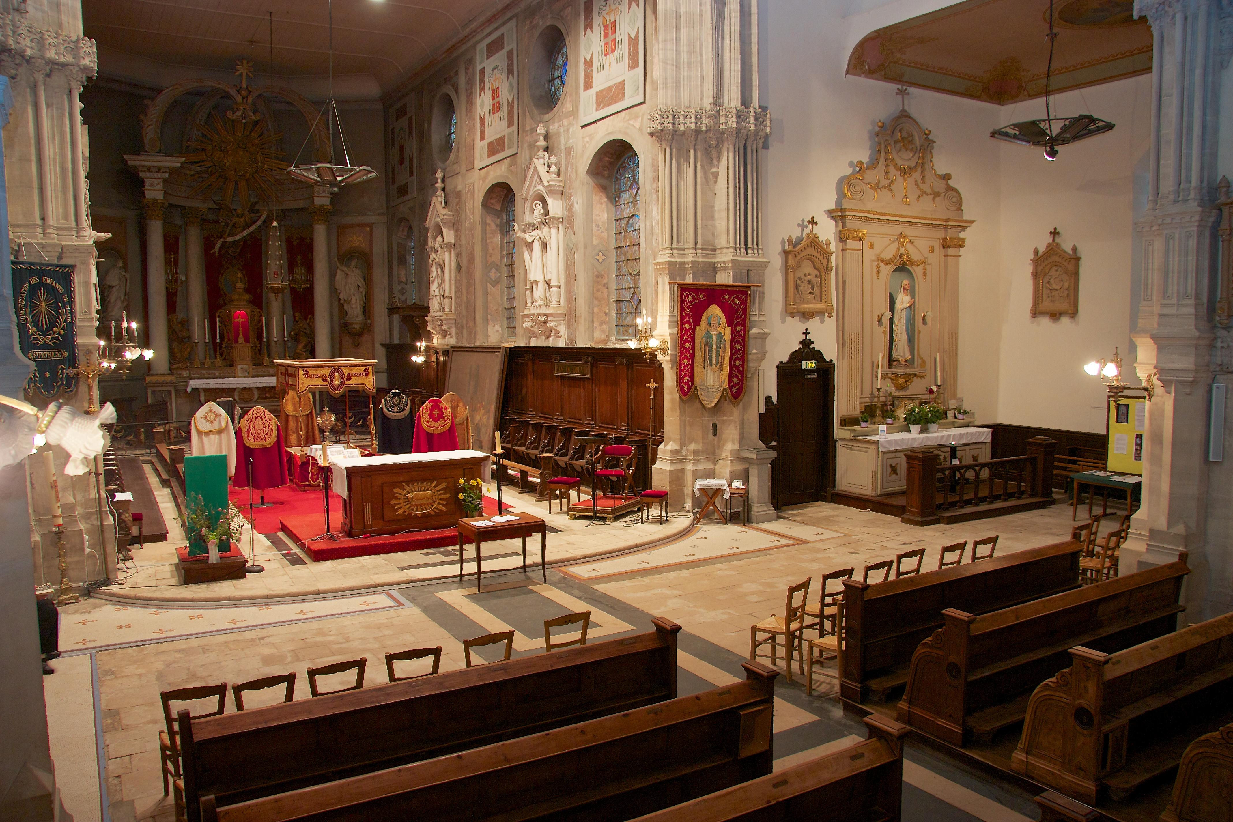 église Saint Patrice de Bayeux Wikiwand