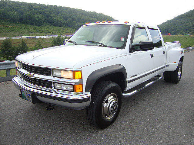 File Chevy K3500 Crew Cab Dually Jpg Wikimedia Commons