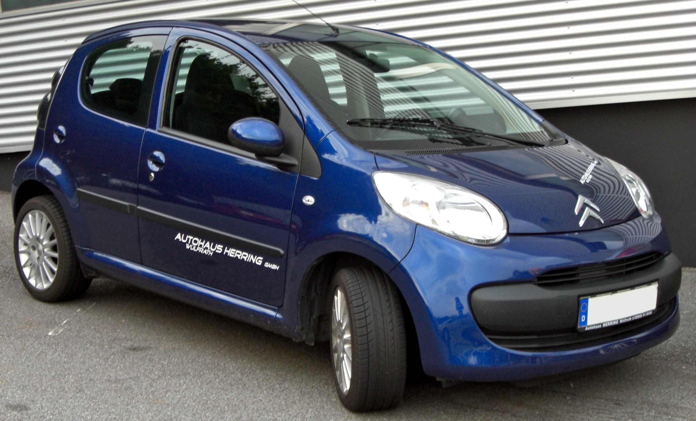 File:Citroën C1 front-2.jpg - Wikimedia Commons
