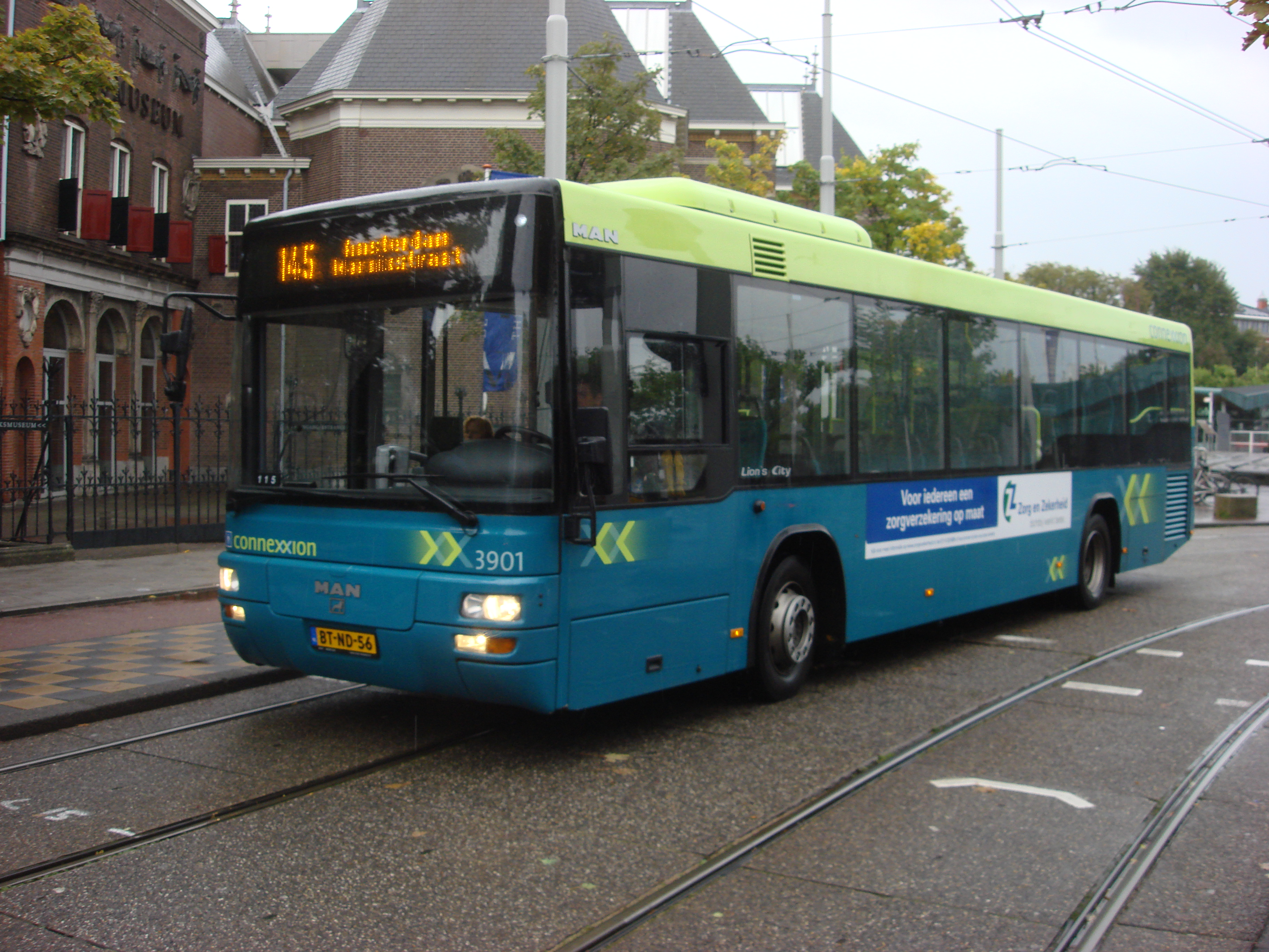 File connexxion bus wikimedia commons for B b amsterdam