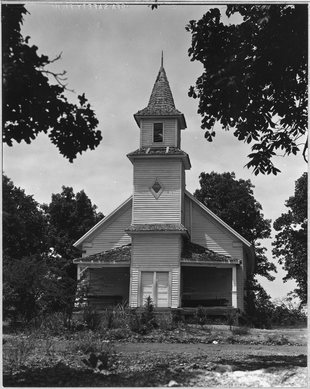 Abandoned Church file:coosa valley, alabama. abandoned church - nara - 522628