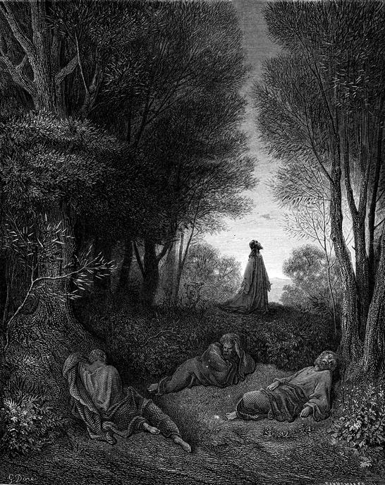 겟세마네에서의 기도 (귀스타브 도레, Gustave Dore, 1865년)