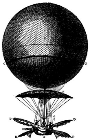 EB1911 Aeronautics - Fig. 5. - Blanchard's Balloon.png