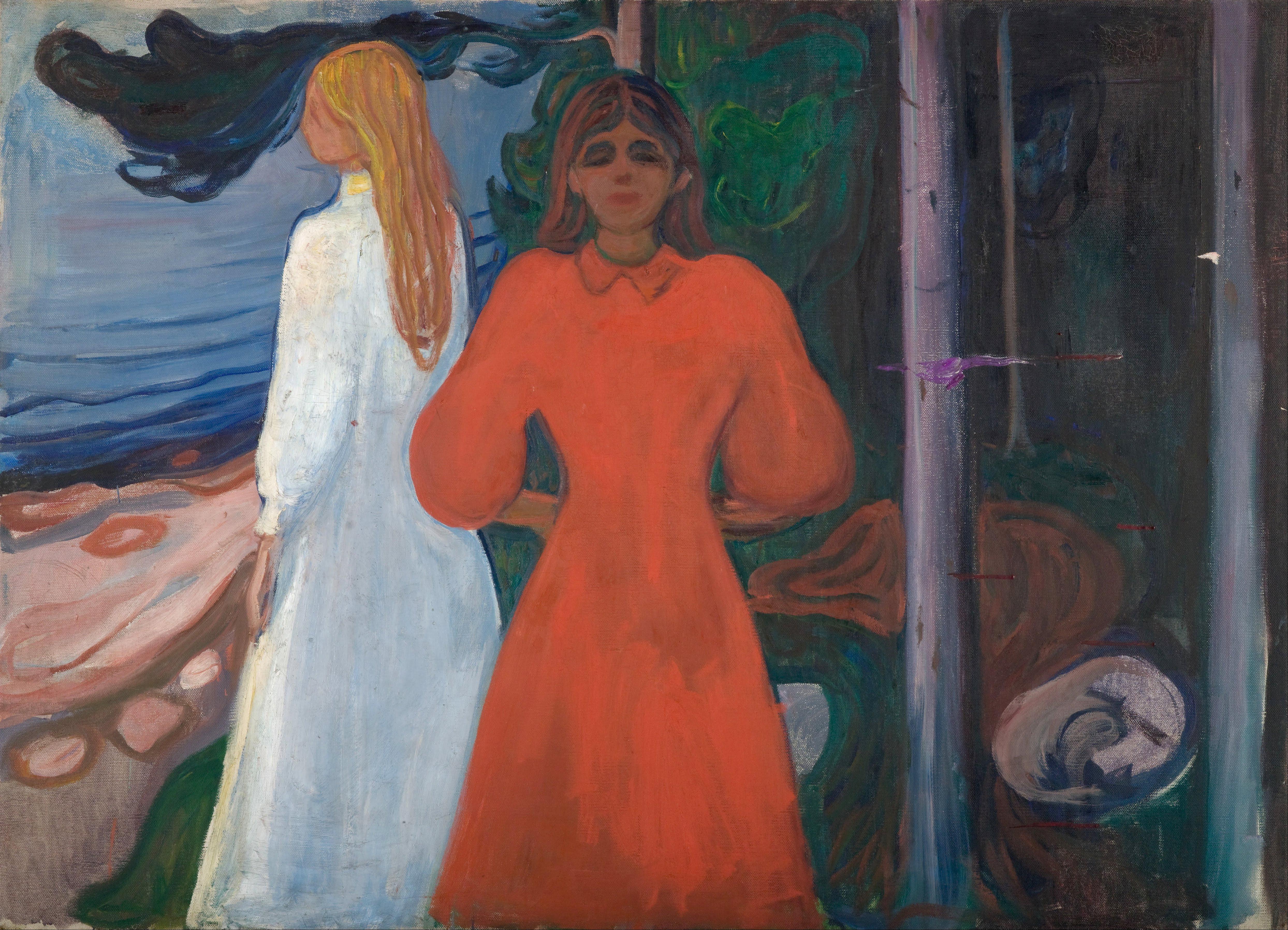"""مونک در سال ۱۸۸۹ نوشت:""""ما باید انسانهایی زنده را که نفس میکشند ،احساس میکنند، رنج می برند و دوست دارند، نقاشی کنیم"""