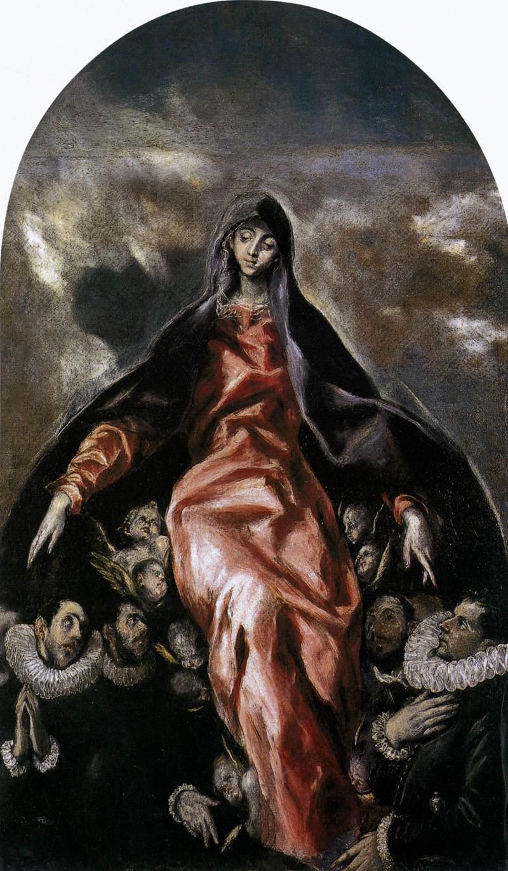 Virgen de la Caridad, El Greco, , Illescas