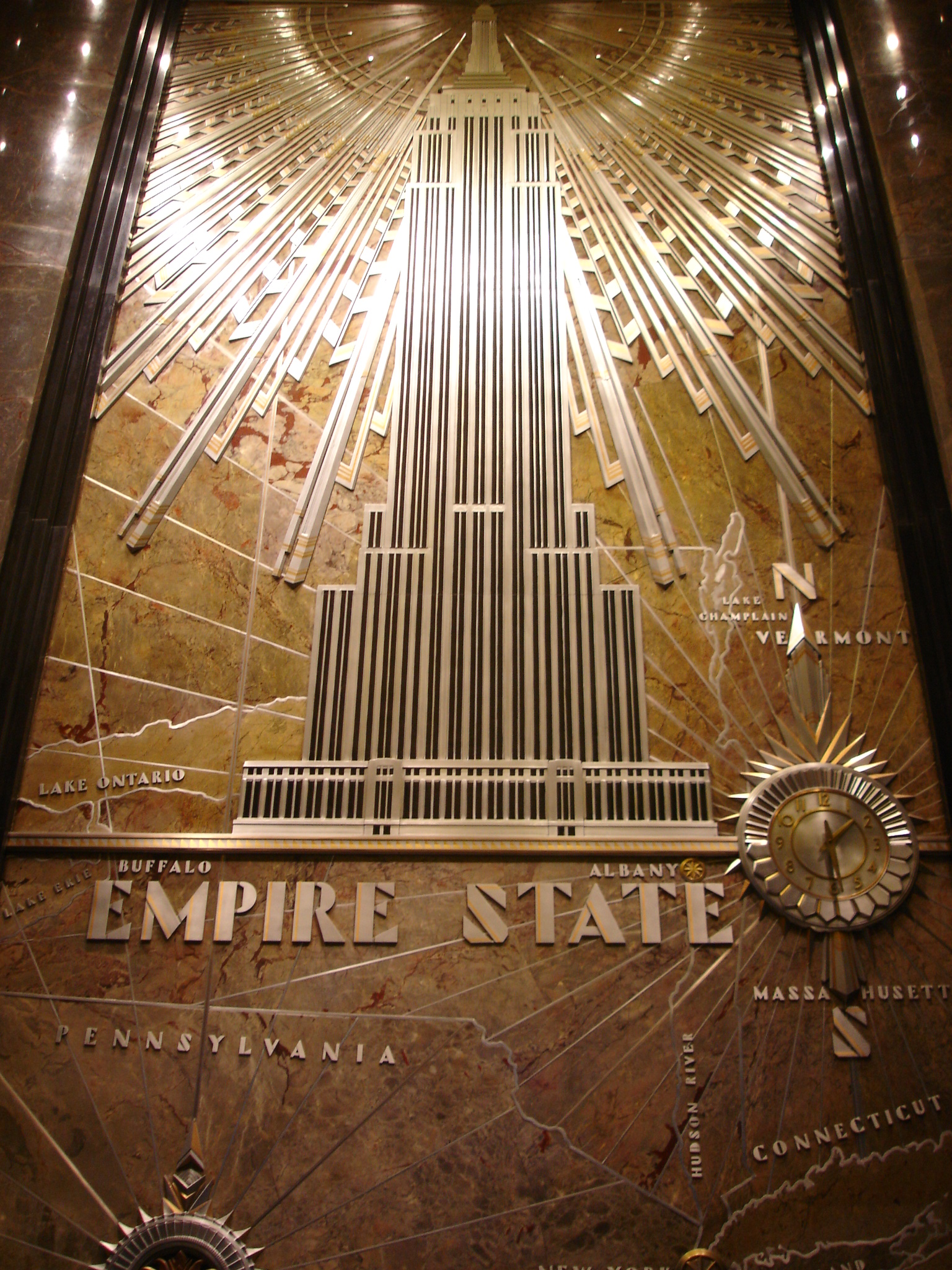 Each Stone For The Construction Of  Empire State Building