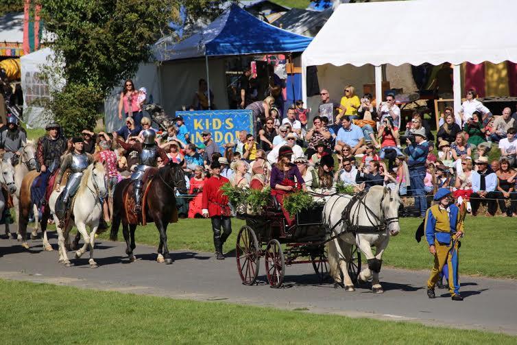 England S Medieval Festival Grand Parade