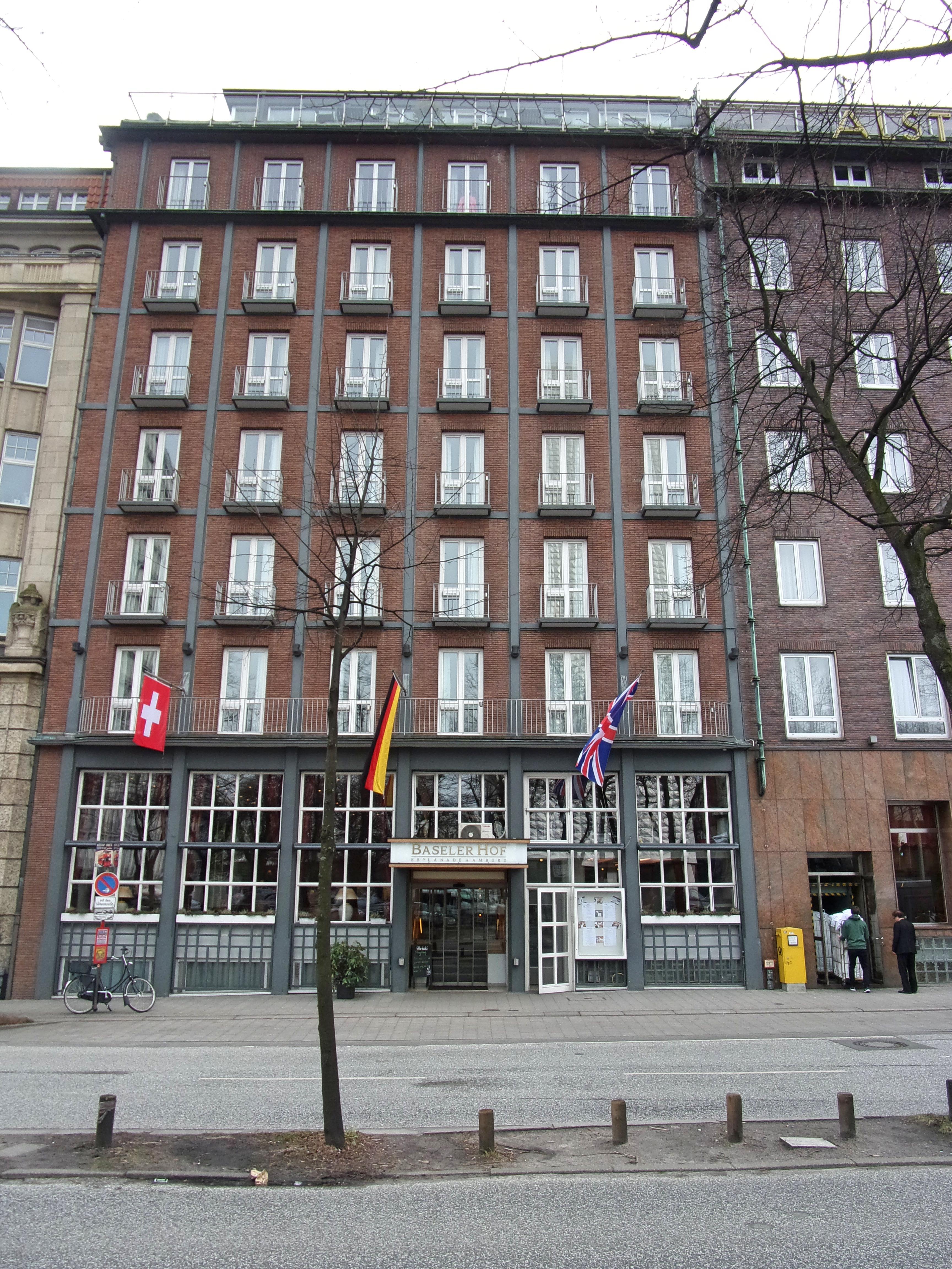 Hotel Baseler Hof Hamburg Parken