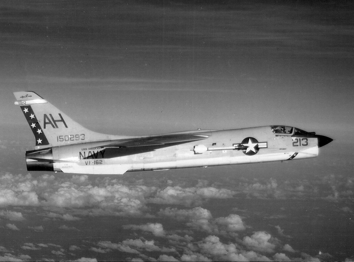 VF-162 F-8E Crusader in 1968