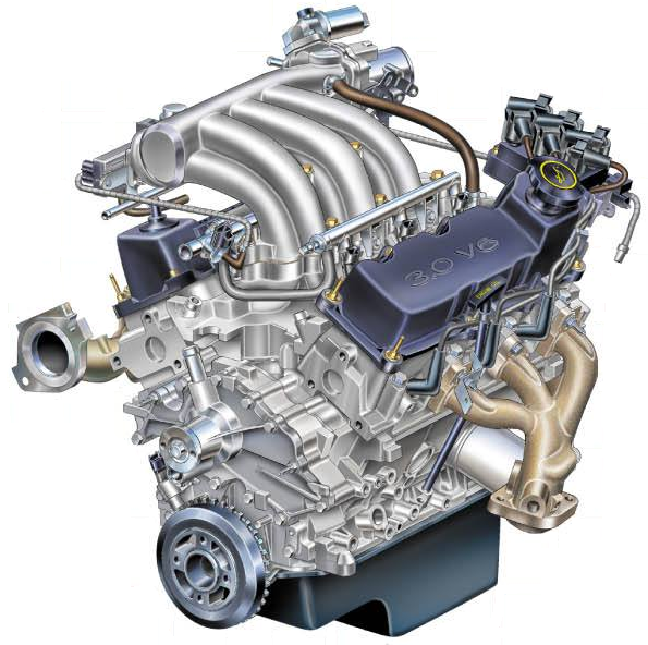 Ford Vulcan engine - Wikipedia | Ford Taurus Ohv Engine Diagram |  | Wikipedia