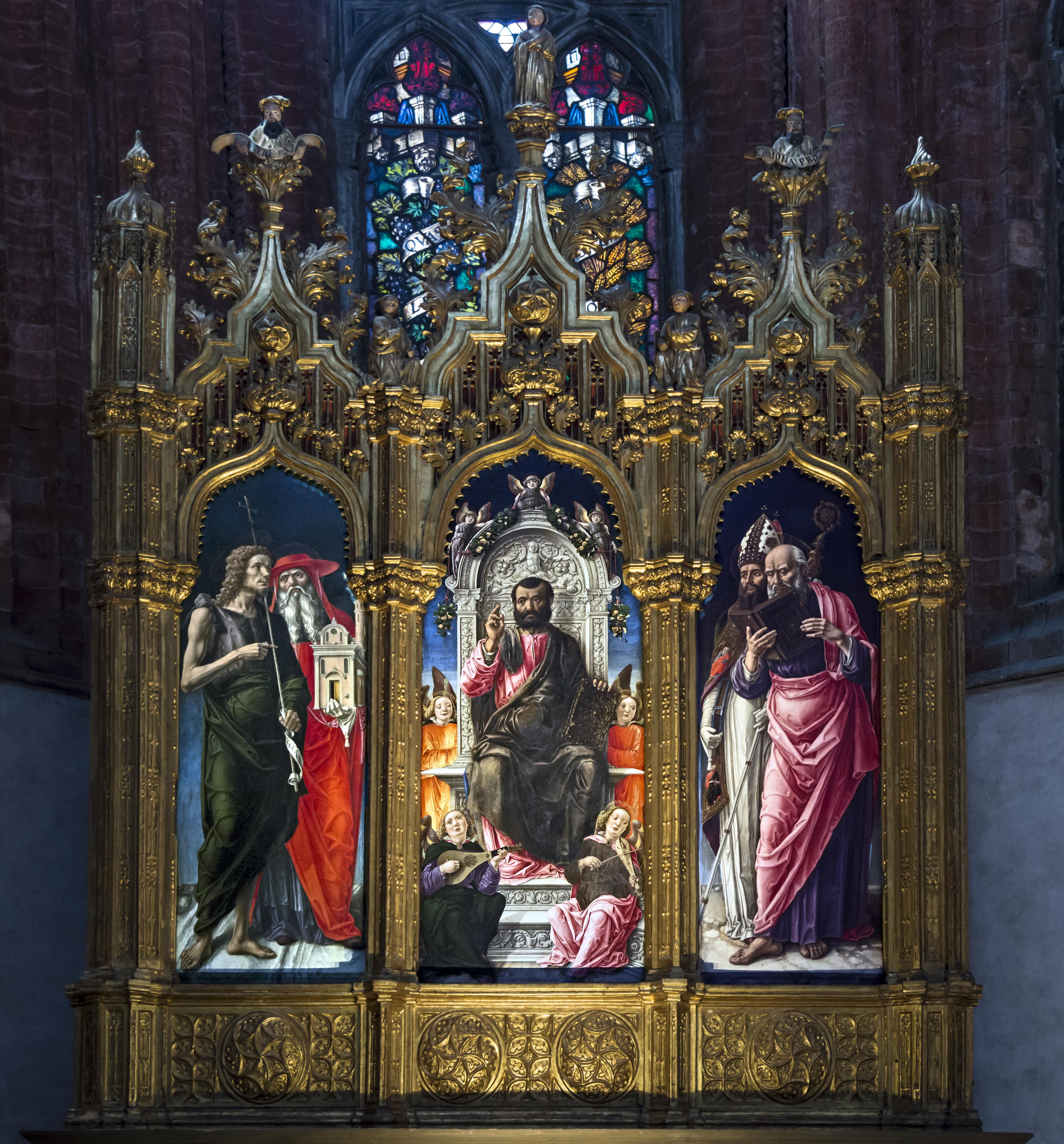 Pala di San Marco di Bartolomeo Vivarini