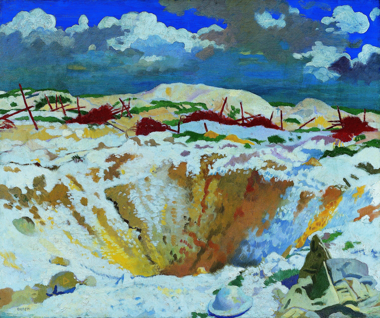 German Wire, Thiepval Art.IWMART3006.jpg