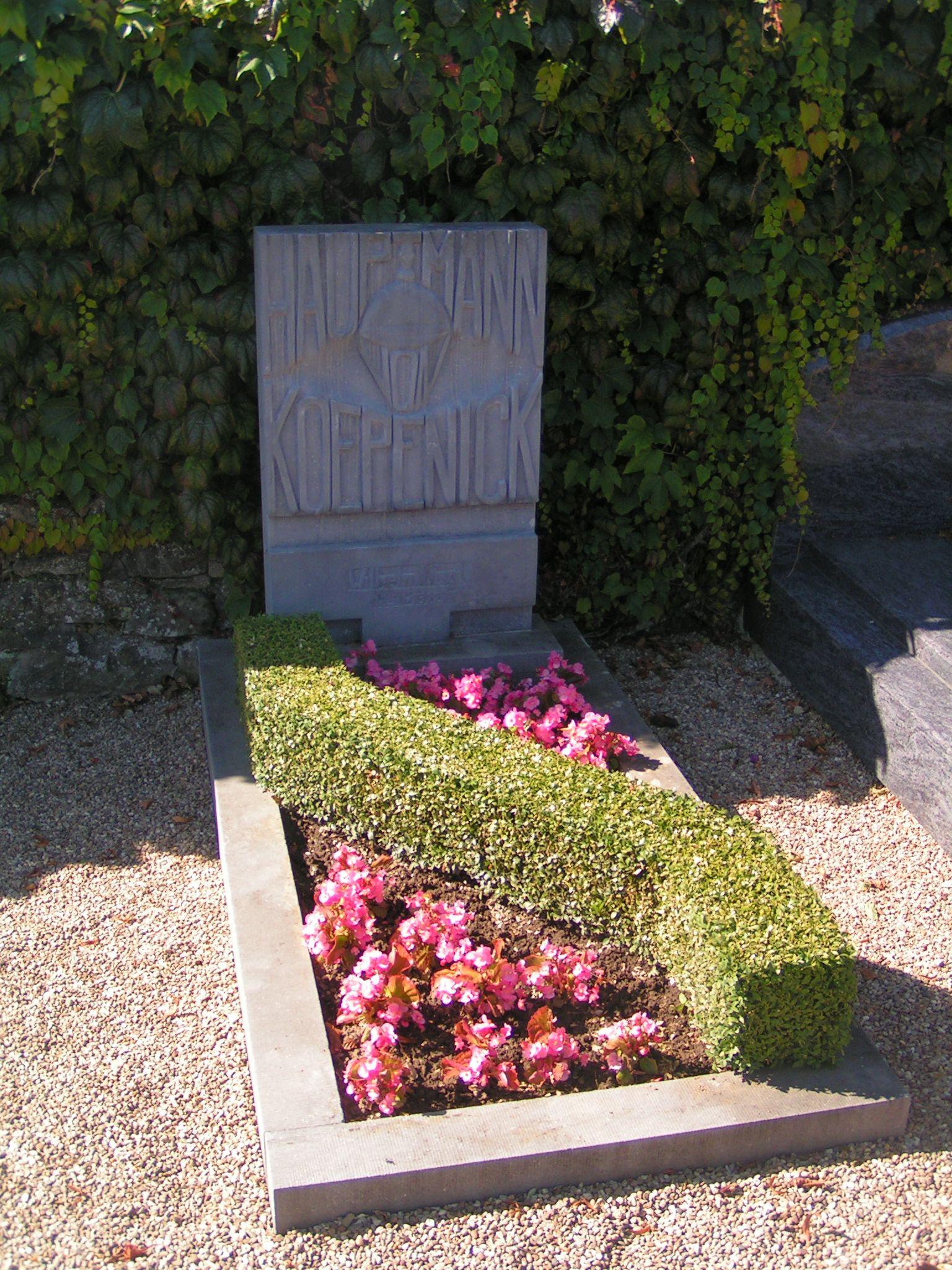 Grab von Friedrich Wilhelm Voigt