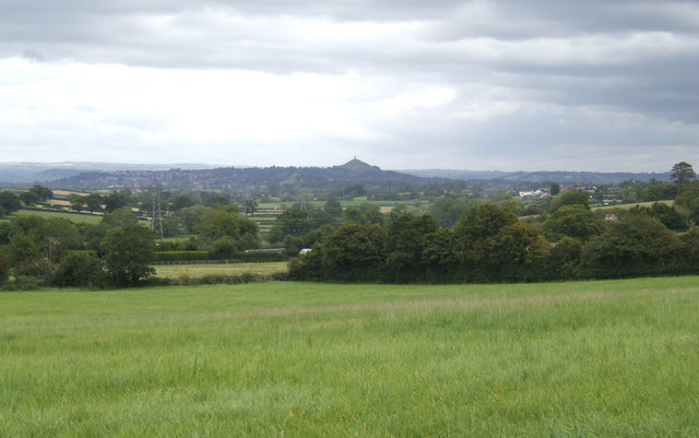 File:Grazing land with a view of the Tor - geograph.org.uk - 525746.jpg