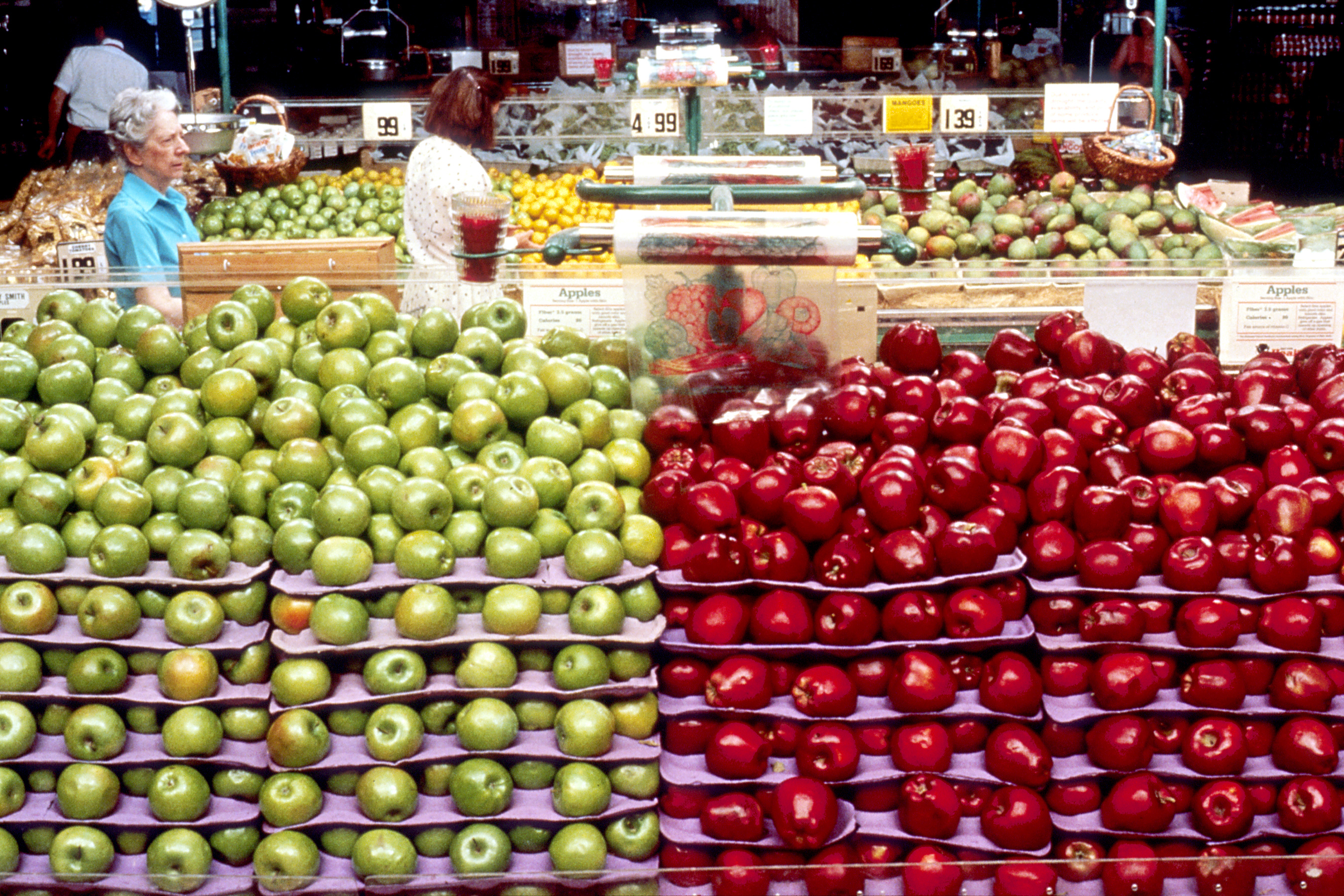 green and red apples. file:green and red apples.jpg green apples