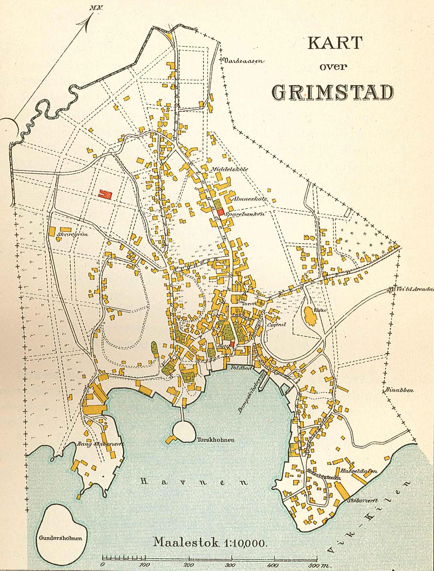 kart over grimstad Fil:Grimstad map 1904. – Wikipedia kart over grimstad