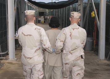 Sex guide in Guantanamo