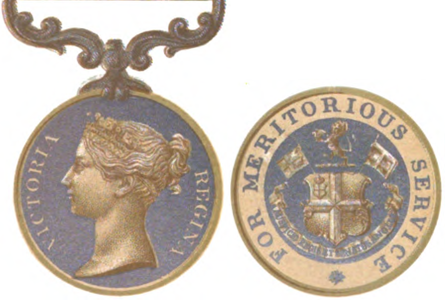 Indian Meritorious Service Medal (for Europeans of Indian