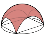 A sail vault