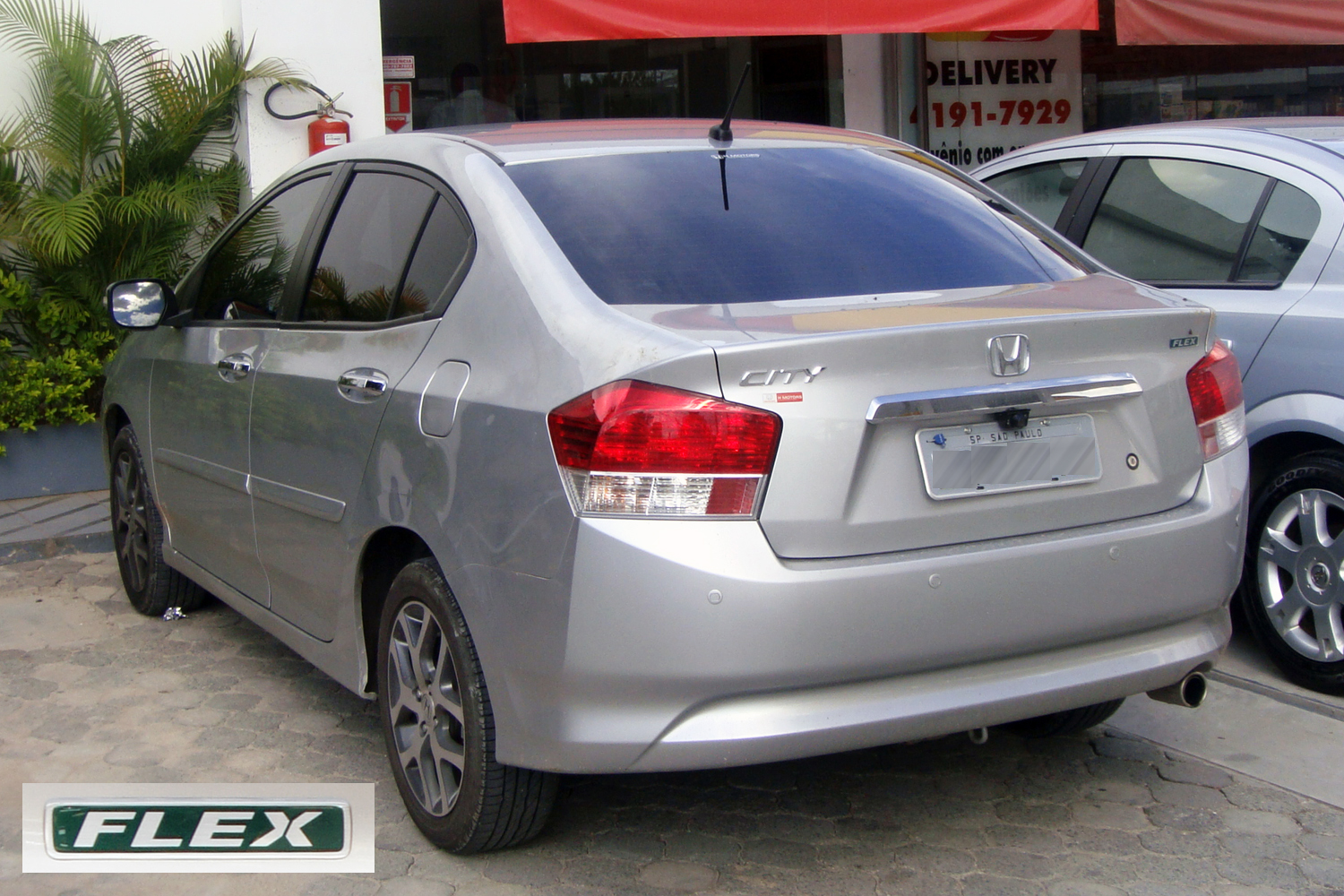 What Is Flex Fuel >> File:Honda City flex fuel with badge SAO 01 2011 806.jpg ...