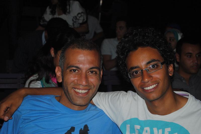 file hossam el hamalawy and moustafa masouny jpg wikimedia commons