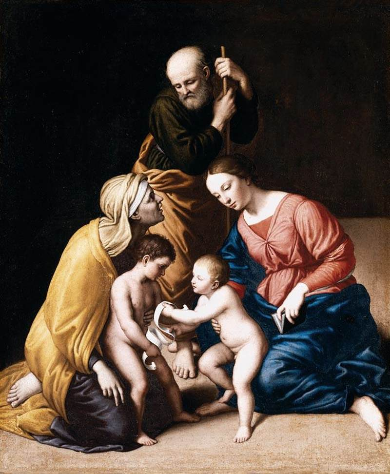 https://upload.wikimedia.org/wikipedia/commons/b/b2/Il_Sassoferrato_-_Holy_Family_with_the_Infant_St_John_the_Baptist_and_St_Elizabeth_-_WGA20871.jpg