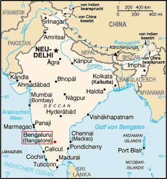 Bangalore India Map File:India map with Bangalore.PNG   Wikimedia Commons