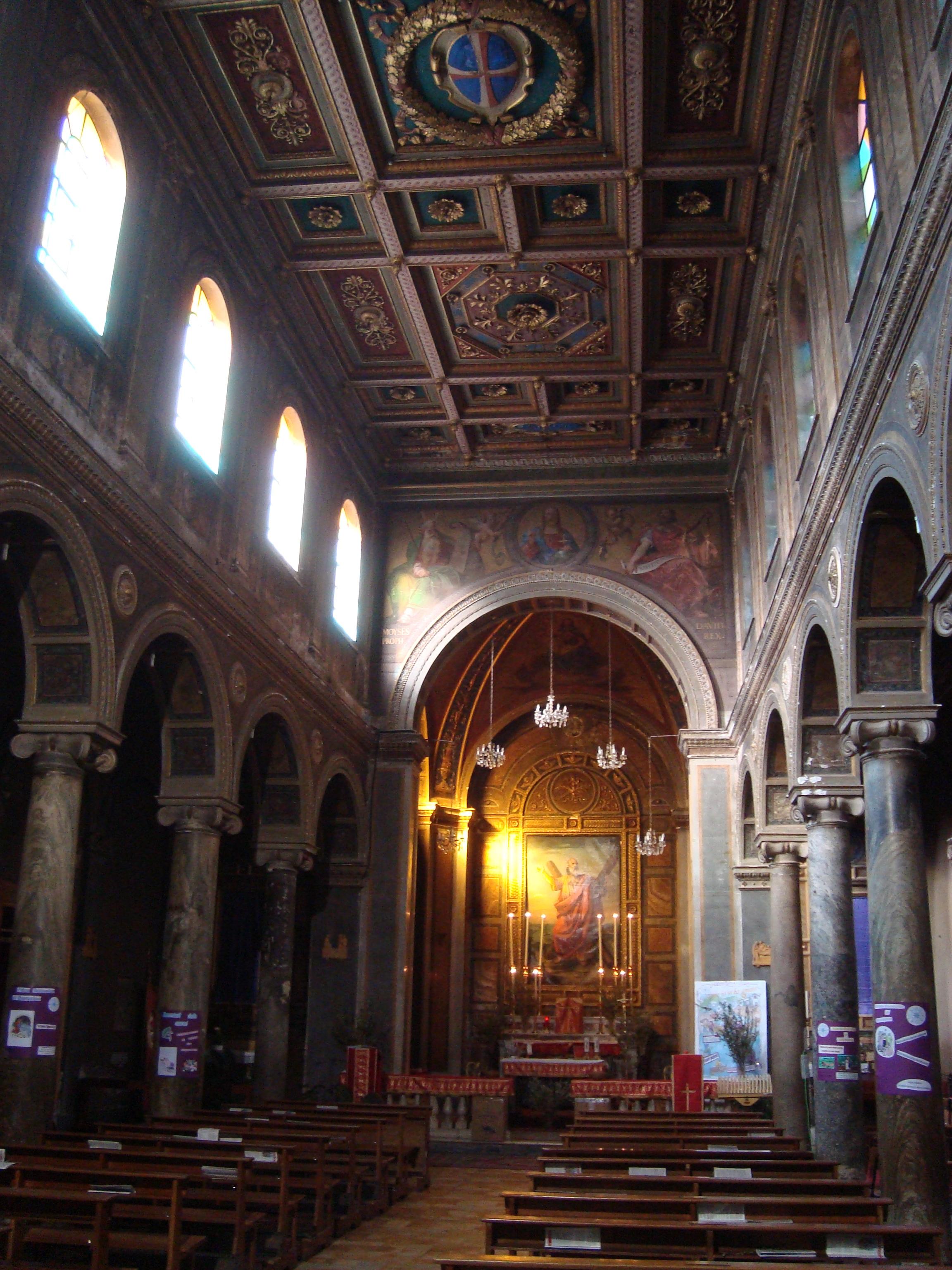 Interior of Chiesa di Sant'Andrea